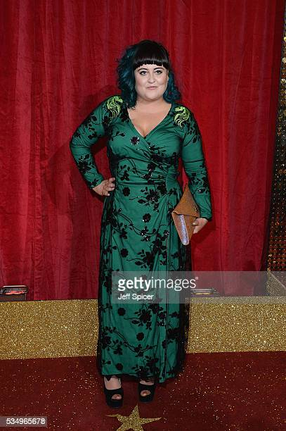 Jessica Ellis attends the British Soap Awards 2016 at Hackney Empire on May 28 2016 in London England