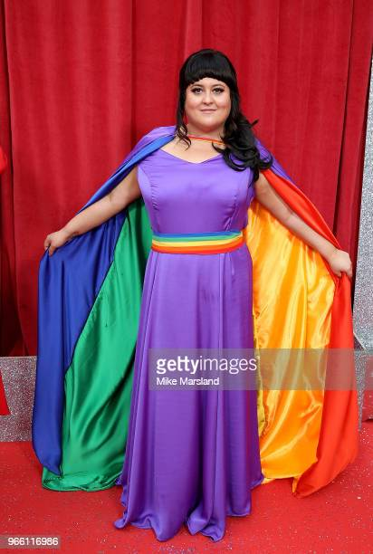 Jessica Ellis attends the British Soap Awards 2018 at Hackney Empire on June 2 2018 in London England