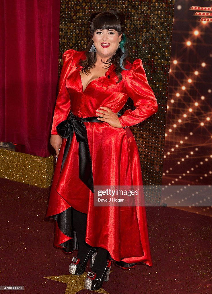 Jessica Ellis attends the British Soap Awards at Manchester Palace Theatre on May 16, 2015 in Manchester, England.