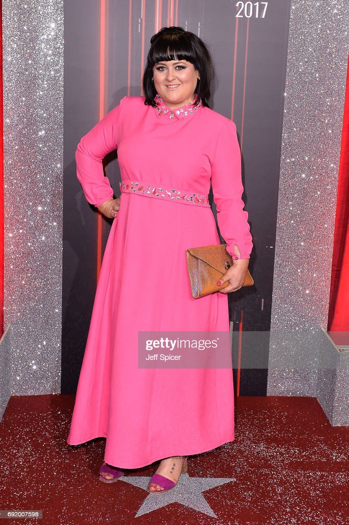 Jessica Ellis attends The British Soap Awards at The Lowry Theatre on June 3, 2017 in Manchester, England. The Soap Awards will be aired on June 6 on ITV at 8pm.
