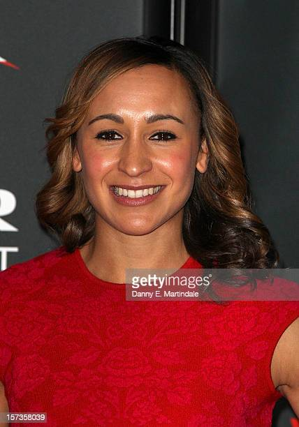Jessica Ennis attends the Jaguar Academy of Sports awards at The Savoy Hotel on December 2 2012 in London England