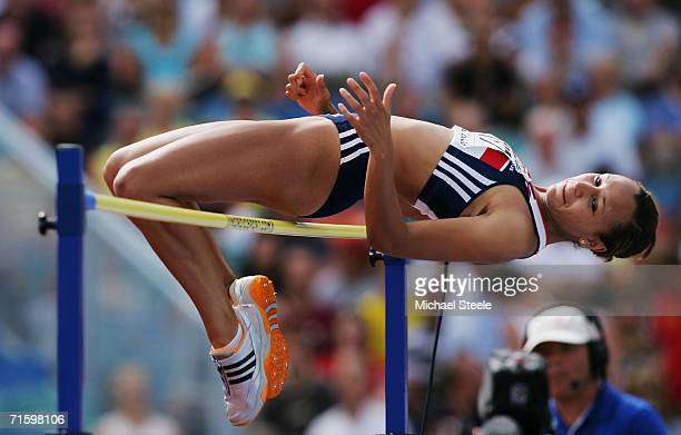 Jessica Ennis of Great Britain competes during the High Jump discipline in the Women's Heptathlon on day one of the 19th European Athletics...
