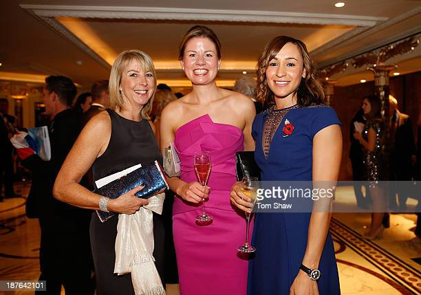 Jessica EnnisHall of Great Britain poses during the British Olympic Ball at The Dorchester on October 30 2013 in London England