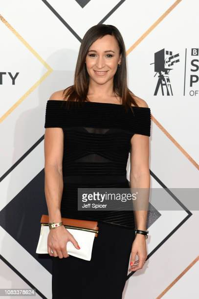 Jessica EnnisHill attends the 2018 BBC Sports Personality Of The Year at The Vox Conference Centre on December 16 2018 in Birmingham England