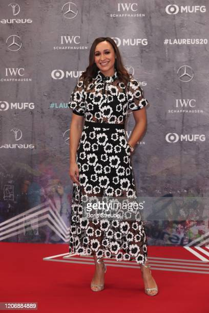 Jessica Ennis-Hill attends the 2020 Laureus World Sports Awards at Verti Music Hall on February 17, 2020 in Berlin, Germany.
