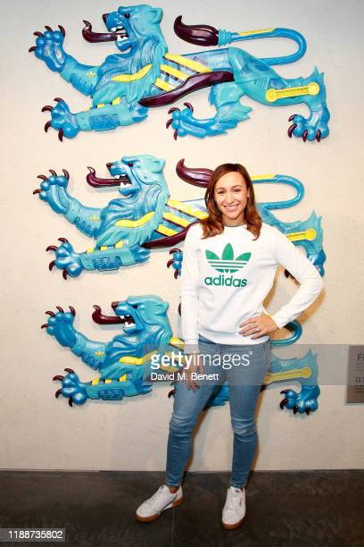 Jessica Ennis-Hill attends the 'adidas LDN presents the Future of Sport' event on November 19, 2019 in London, England.