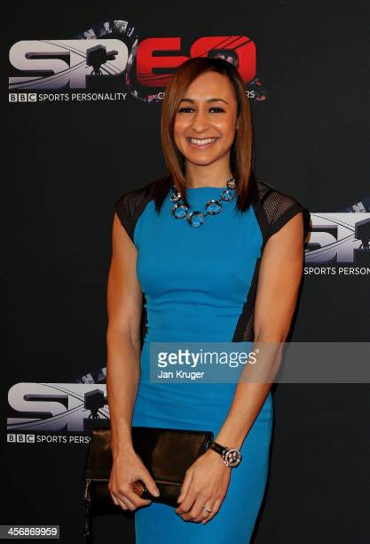 Jessica EnnisHill attends the BBC Sports Personality of the Year Awards at First Direct Arena on December 15 2013 in Leeds England