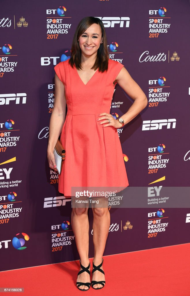 Jessica Ennis-Hill attends the BT Sport Industry Awards at Battersea Evolution on April 27, 2017 in London, England.