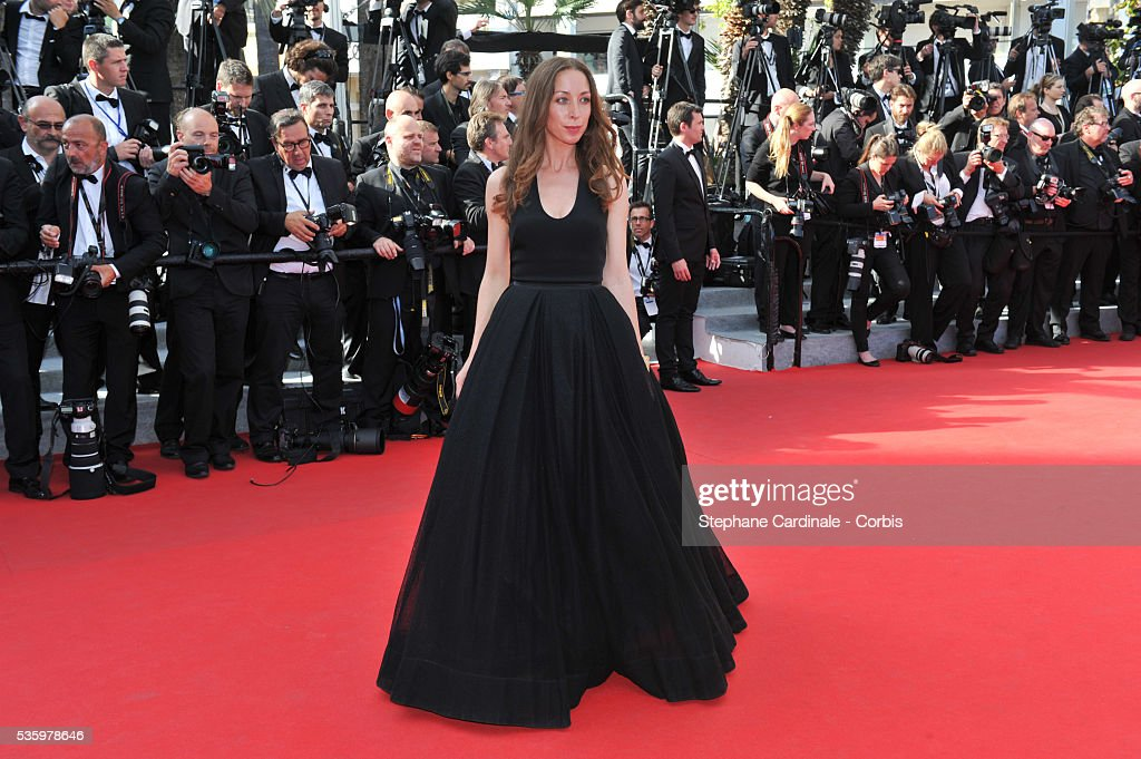Jessica Erikson at the Closing ceremony and 'A Fistful of Dollars' screening during 67th Cannes Film Festival