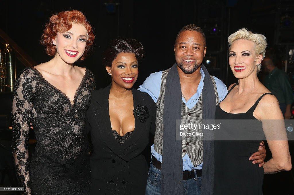 Celebrities Visit Broadway - February 20, 2018 : News Photo