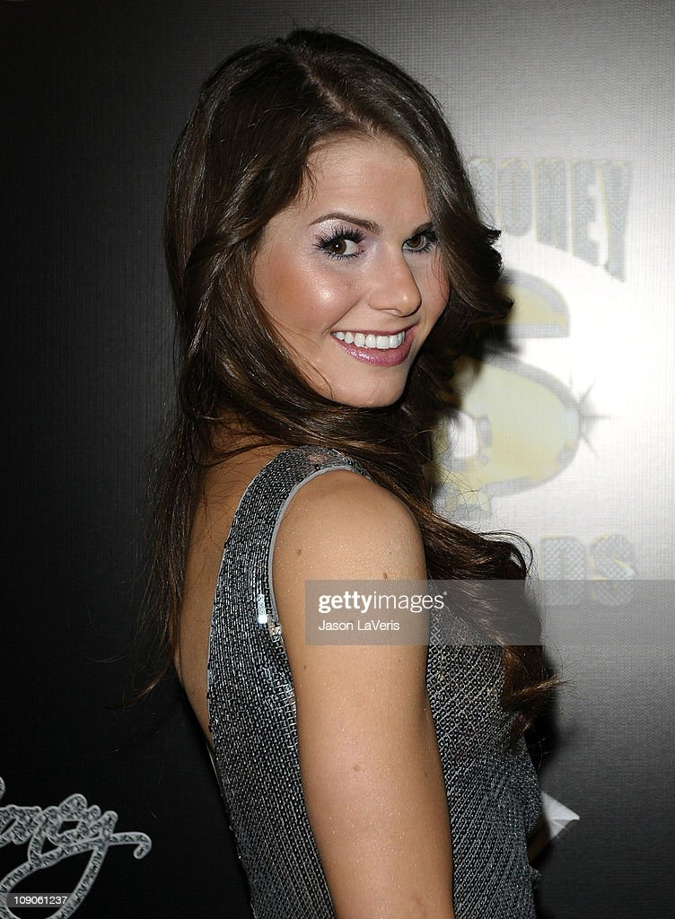 Jessica Ferguson attends the Cash Money Records annual Pre-Grammy Awards party at The Lot on February 12, 2011 in West Hollywood, California.