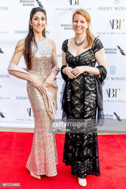 Jessica Fox and Patricia McTigue attend the 2018 American Ballet Theatre Spring Gala at The Metropolitan Opera House on May 21 2018 in New York City