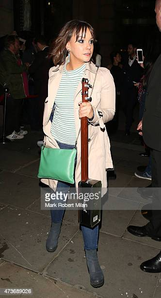 Jessica Fox attending the British Soap Awards at the Palace Theatre on May 16 2015 in Manchester England