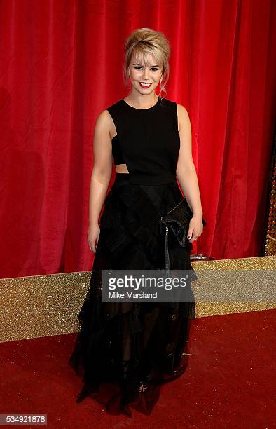 Jessica Fox attends the British Soap Awards 2016 at Hackney Empire on May 28 2016 in London England