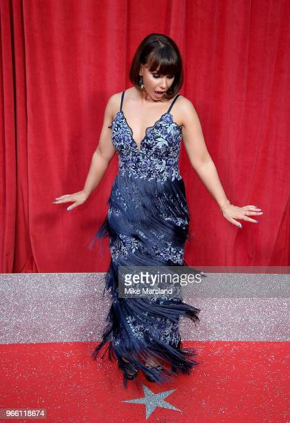 Jessica Fox attends the British Soap Awards 2018 at Hackney Empire on June 2 2018 in London England
