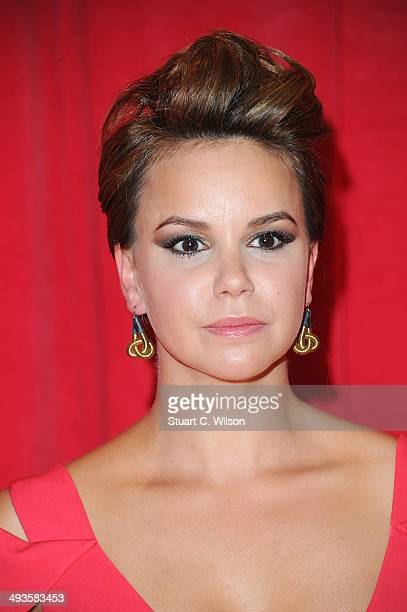 Jessica Fox attends the British Soap Awards at Hackney Empire on May 24 2014 in London England