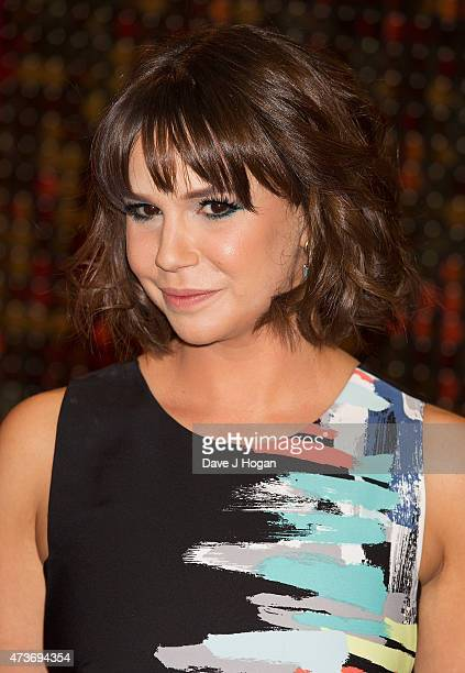 Jessica Fox attends the British Soap Awards at Manchester Palace Theatre on May 16 2015 in Manchester England