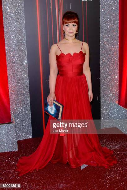 Jessica Fox attends the British Soap Awards at The Lowry Theatre on June 3 2017 in Manchester England