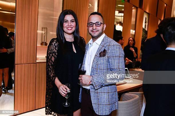 Jessica Franco and Cesar Ostos at the Angelo Bonati Celebrates SHoP Architects the Winner of the 2016 Panerai Design Miami Visionary Award on...