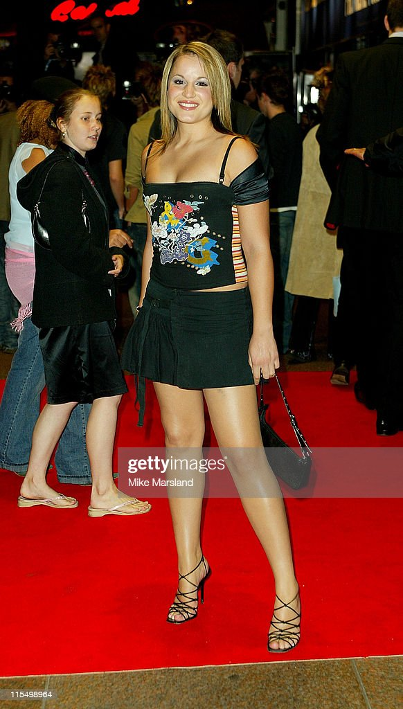 Jessica Garlic during 'The League Of Extraordinary Gentlemen' Uk Premiere at The Odeon Leicester Square in London, United Kingdom.