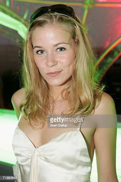 Jessica Ginkel attends the Bild Summer party July 6 2006 in Berlin Germany