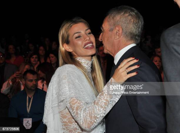 Jessica Goicoechea and Alberto Palatchi Ribera the Studio St Patrick show during Barcelona Bridal Fashion Week 2017 on April 26 2017 in Barcelona...