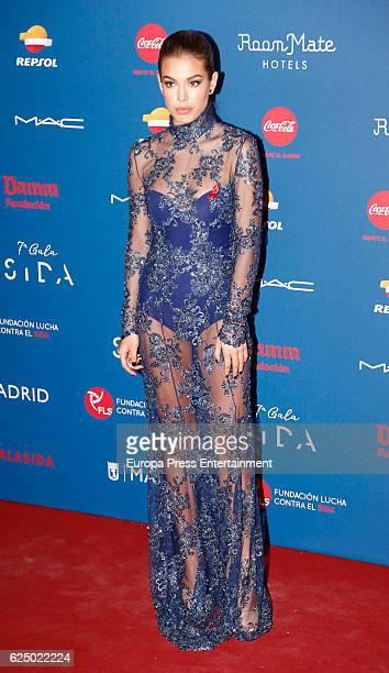 Jessica Goicoechea attends 'Gala Sida' 2016 at Cibeles Palace on November 21 2016 in Madrid Spain