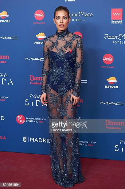 Jessica Goicoechea attends 'Gala Sida' 2016 at Madrid City Hall on November 21 2016 in Madrid Spain