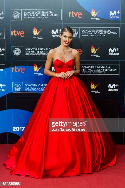 Jessica Goicoechea attends 'La Cordillera' premiere during 65th San Sebastian Film Festival on September 26 2017 in San Sebastian Spain
