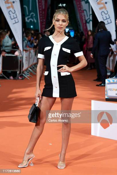Jessica Goicoechea attends 'Toy Boy' premiere at Teatro Principal on September 06 2019 in VitoriaGasteiz Spain