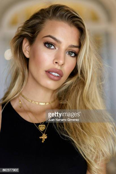Jessica Goicoechea poses during a portrait session at Maria Cristina Hotel during 65th San Sebastian International Film Festival on September 27 2017...