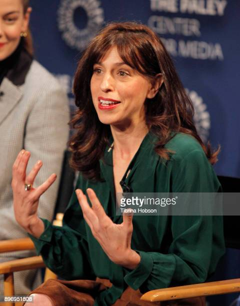 Jessica Goldberg attends the Paley Center for Media's presentation of Hulu's 'The Path' Season 3 premiere QA at The Paley Center for Media on...