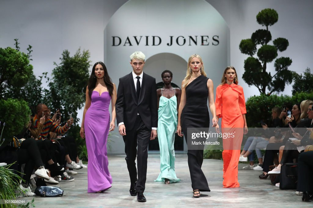 David Jones Spring Summer 18 Collections Launch - Media Rehearsal : News Photo