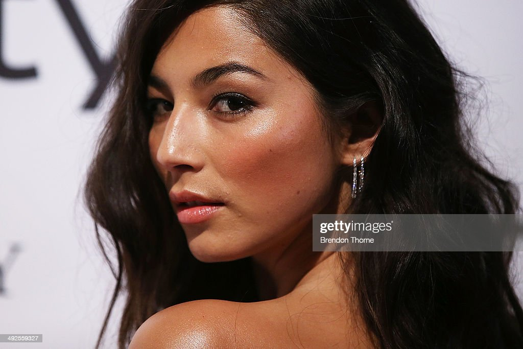 Jessica Gomes arrives at the Instyle and Audi 'Women of Style' Awards on May 21, 2014 in Sydney, Australia.