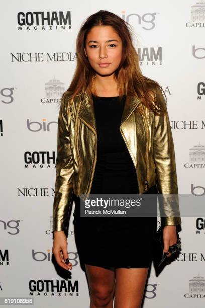 Jessica Gomes attends ALICIA KEYS Hosts GOTHAM MAGAZINES Annual Gala Presented by BING at Capitale on March 15 2010 in New York City