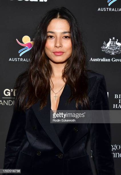 Jessica Gomes attends G'Day USA 2020 | Standing Together Dinner at the Beverly Wilshire Four Seasons Hotel on January 25 2020 in Beverly Hills...