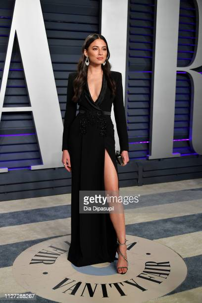 Jessica Gomes attends the 2019 Vanity Fair Oscar Party hosted by Radhika Jones at Wallis Annenberg Center for the Performing Arts on February 24,...