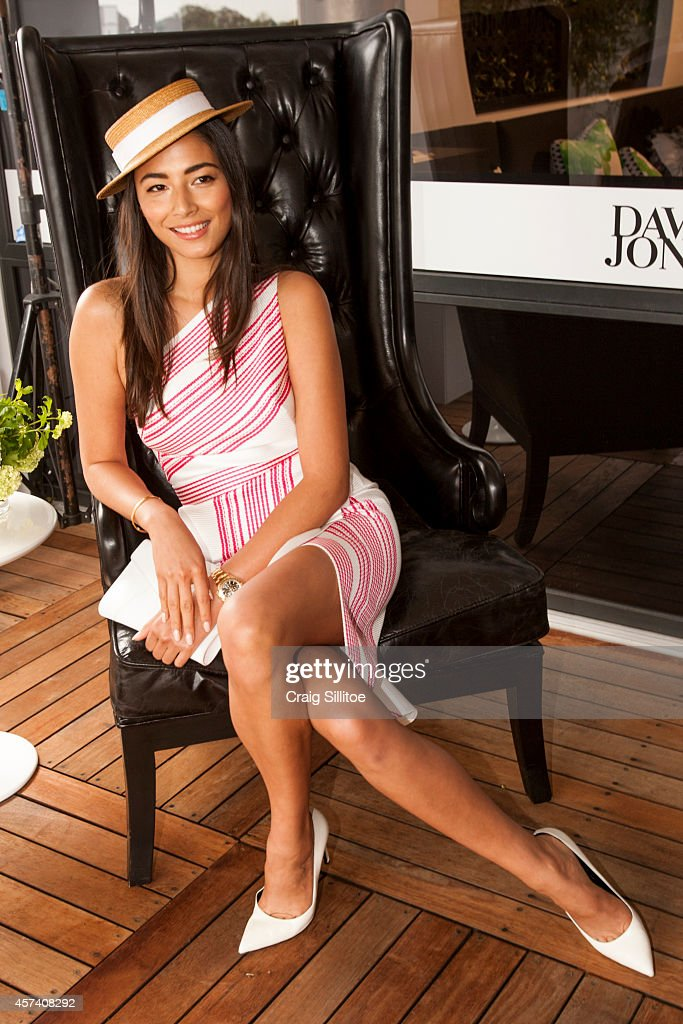 Celebrities Attend Caulfield Cup Day : News Photo