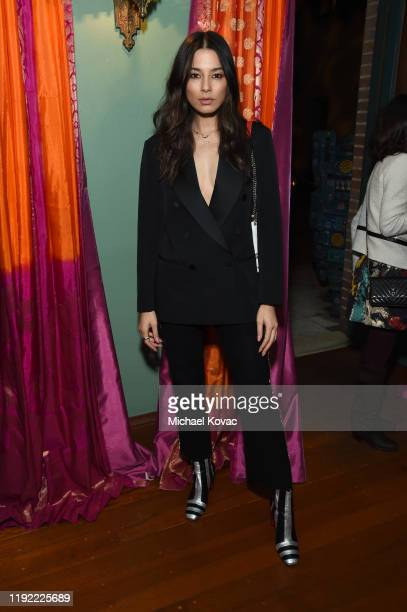 Jessica Gomes attends the Christian Louboutin Laura Brown Celebrate The Debut Of The 'ELISA' at The Paramour Estate on December 05 2019 in Los...