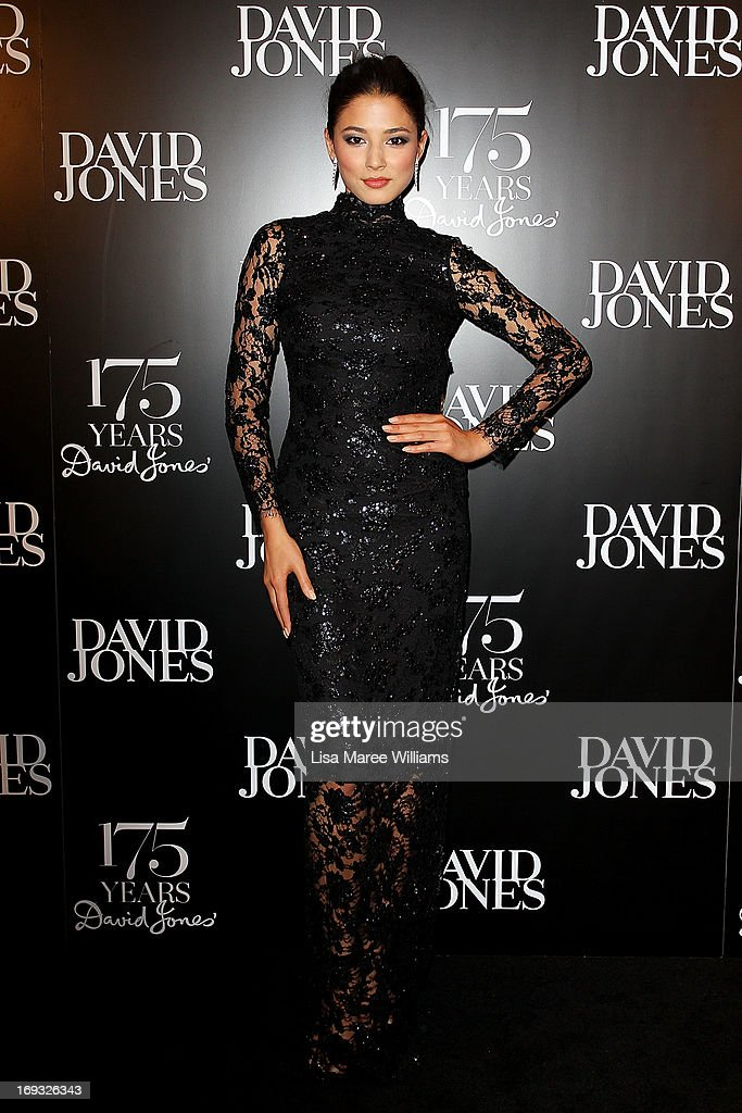 Jessica Gomes attends the David Jones 175 year celebration at David Jones on May 23, 2013 in Sydney, Australia.
