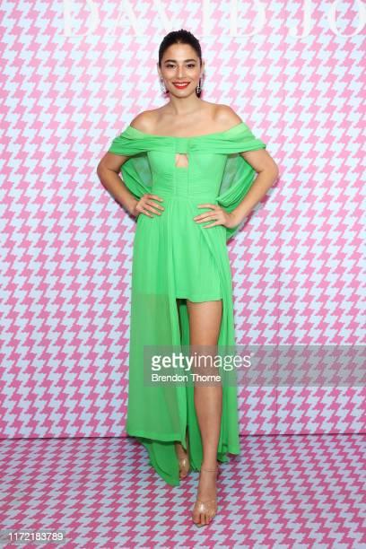 Jessica Gomes attends the David Jones SS19 Bright Night event at David Jones Elizabeth Street Store on September 04, 2019 in Sydney, Australia.
