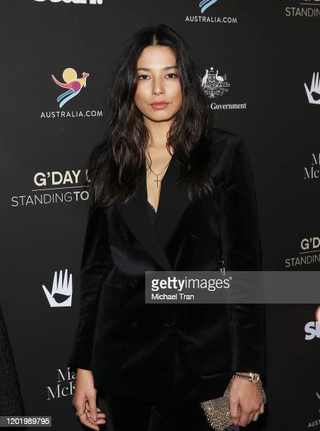 Jessica Gomes attends the G'Day USA 2020 held at Beverly Wilshire A Four Seasons Hotel on January 25 2020 in Beverly Hills California