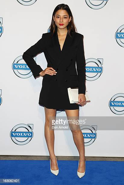 Jessica Gomes attends the launch of the new Volvo V40 at Australian Technology Park on March 4 2013 in Sydney Australia