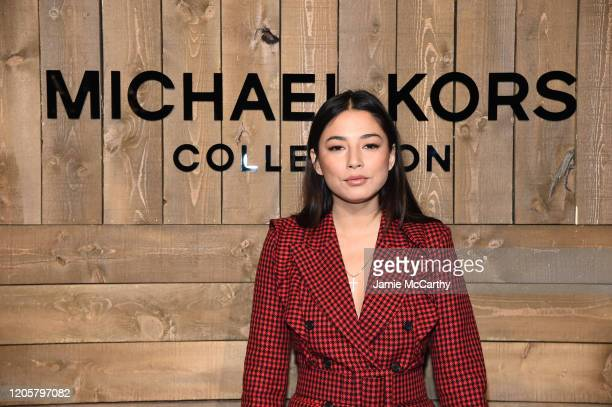 Jessica Gomes attends the Michael Kors FW20 Runway Show on February 12 2020 in New York City