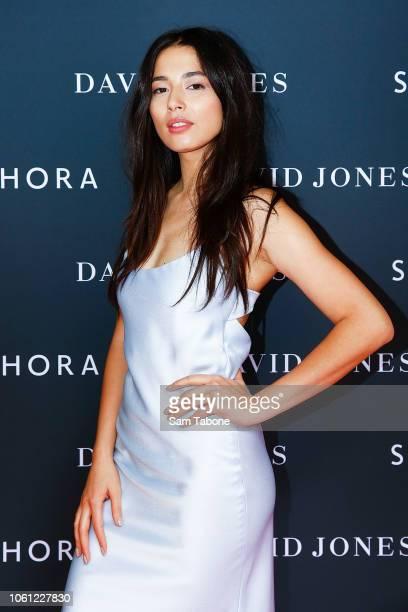 Jessica Gomes attends the Sephora at David Jones launch on November 14 2018 in Melbourne Australia