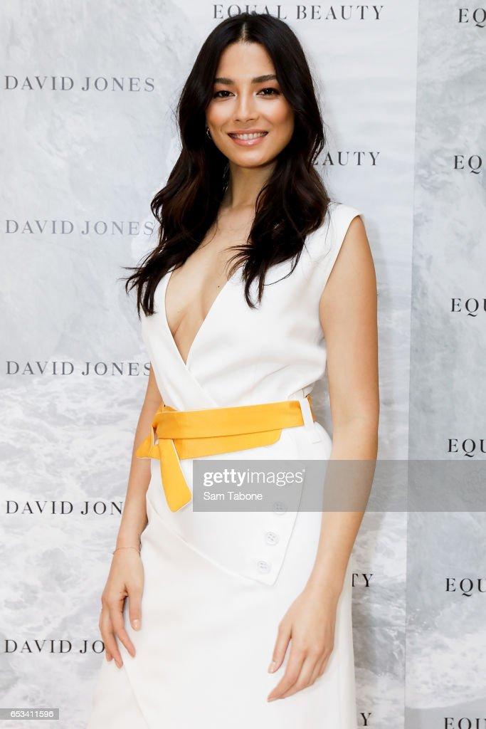 Jessica Gomes Launches 'Equal Beauty' At David Jones