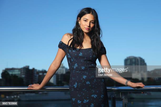 Jessica Gomes poses during the David Jones Spring Summer 18 Collections Launch Model Castings on July 11 2018 in Sydney Australia
