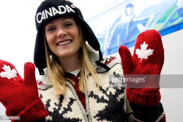 Jessica GREGG Ouverture de l Olympic Superstore a Vancouver Jeaux Olympiques d Hiver de Vancouver 2010 Vancouver