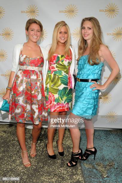 Jessica Griffith Brooke Block and Hadley Nagel attend SOLAR 1's Revelry By The River Honors MATTHEW MODINE KICK KENNEDY HSBC at Stuyvesant Cove on...