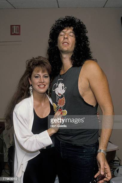 Jessica Hahn and Howard Stern